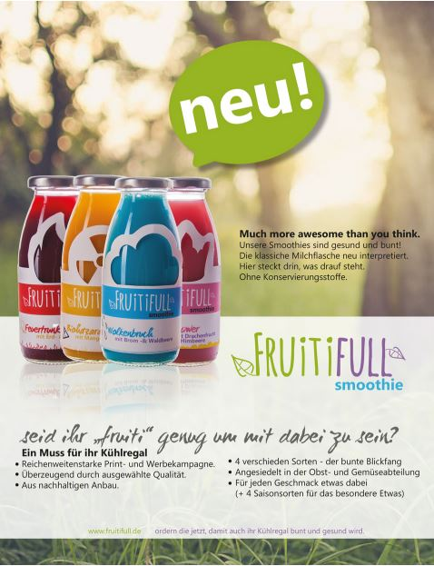 Fruitiful Flyer Plakat Corporate Design